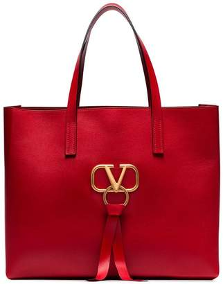 Valentino Small leather tote bag