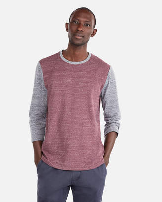Express Recycled Stretch Three-Quarter Sleeve Football Tee