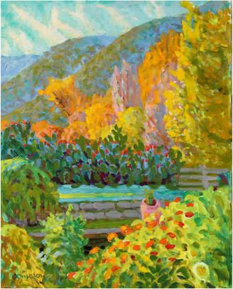 "Serena & Lily ""Vibrant Impressionistic Landscape"" by Frederick Pomeroy"