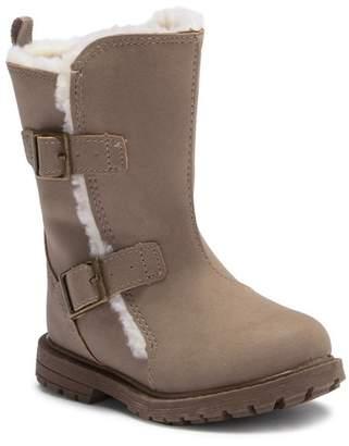 Osh Kosh OshKosh Hollis Faux Fur Buckle Boot (Toddler & Little Kid)