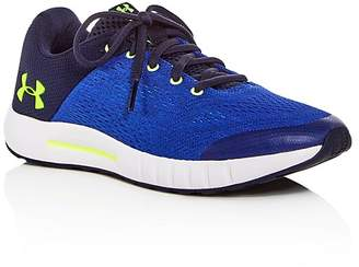 Under Armour Boys' BPS Pursuit Lace Up Sneakers - Big Kid