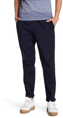 "Original Penguin Lightweight Stretch Twill Elasticized Straight Leg Pants - 32\"" Inseam"