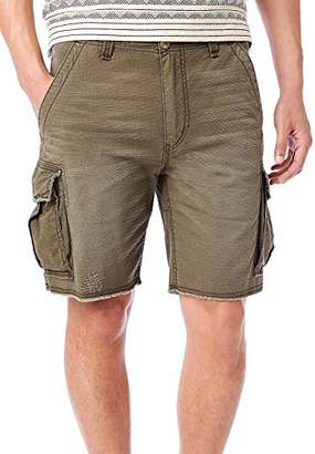 UNIONBAY Men's Vintage Stretch Ripstop Relaxed Cargo Short