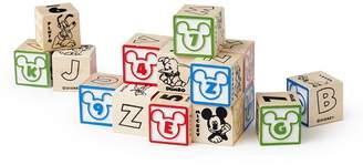 Melissa & Doug Disney Classics ABC's & 123's My First Wooden Block Set