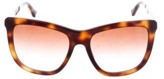 Burberry Embellished Gradient Sunglasses