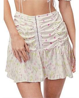 For Love & Lemons Strudel Mini Skirt
