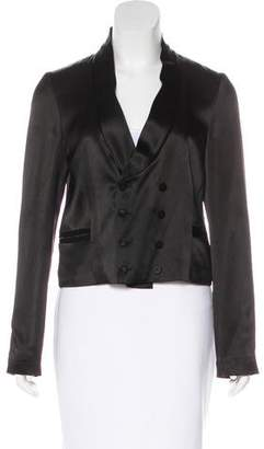 Chloé Double-Breasted Satin Blazer w/ Tags