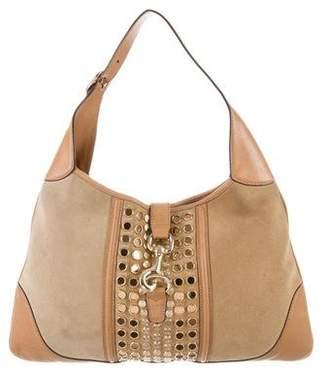 Gucci Studded Jackie O Bouvier Bag