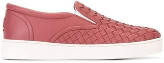 Bottega Veneta Intrecciato slip-on sneakers