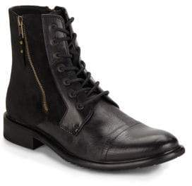 Kenneth Cole Side-Zippered Boots