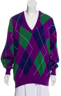 Pringle Intarsia V-Neck Sweater