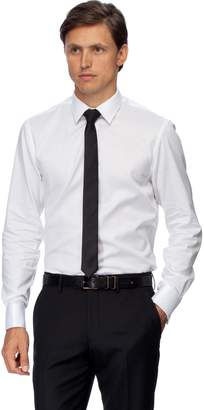 Brooksfield Luxe Twill Shirt - French Cuff