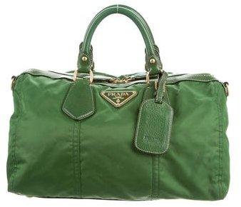 pradaPrada Tessuto & Leather Satchel