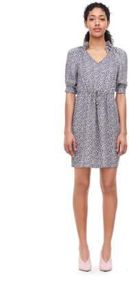 Rebecca Taylor Lauren Floral Silk Jacquard Dress