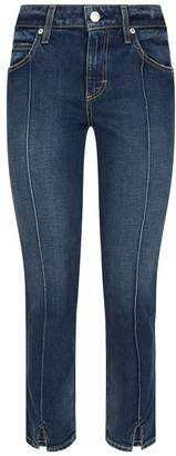 Amo Denim Pixie Mid-Rise Slim Jeans