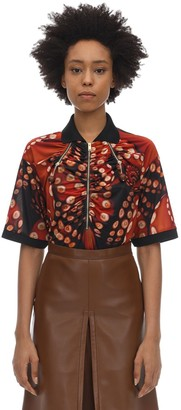 Burberry PRINTED STRETCH JERSEY T-SHIRT