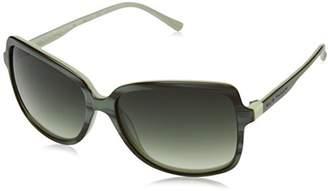 Elie Tahari Women's EL 196 GRN Rectangular Sunglasses