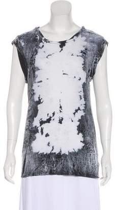 Pam & Gela Printed Sleeveless Top