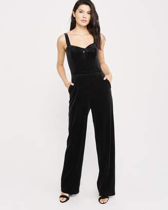 Abercrombie & Fitch Velvet Jumpsuit