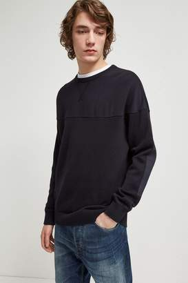 French Connection Garment Dyed Cotton Sweatshirt