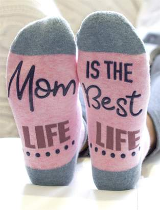 Motherhood Maternity Keep Calm And Push Hospital Sock