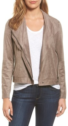 Women's Kut From The Kloth Mai Faux Suede Jacket $98 thestylecure.com