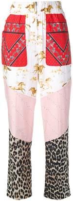 Ganni Sweeny track trousers