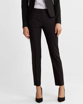 Express Petite Mid Rise Ankle Columnist Pant