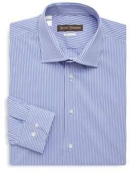 Hickey Freeman Two-Tone Stripe Dress Shirt