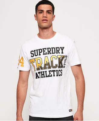 Superdry Super Track Metallic Box Fit T-Shirt