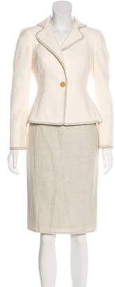 Akris Three-Piece Skirt Suit