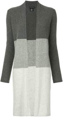 Sofia Cashmere colour block cardigan