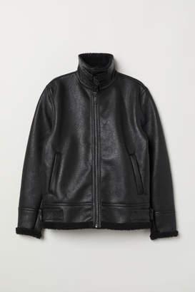 H&M Pilot Jacket - Black