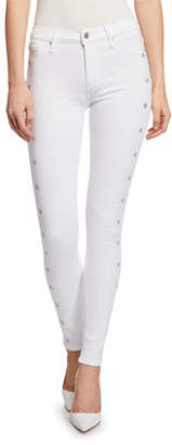 Black Orchid Gisele High-Rise Super Skinny Jeans with Metallic Stars