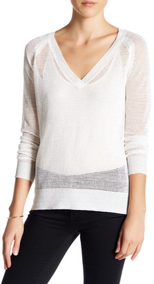 360 Cashmere Melina Linen Sweater $207 thestylecure.com