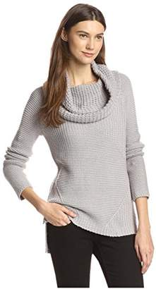 James & Erin Women's Cowl Neck Sweater