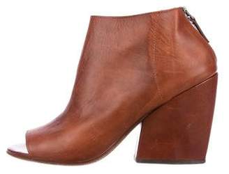 Marsèll Cutout Leather Booties