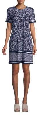 MICHAEL Michael Kors Short Sleeve Tansy Shirt Dress