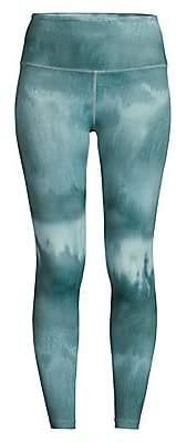 Beyond Yoga Women's High-Waist Printed Midi Leggings