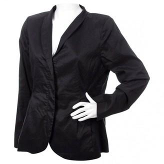 Eileen Fisher Black Silk Jackets