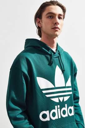 adidas Oversized Trefoil Hoodie Sweatshirt
