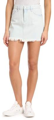Mavi Jeans Lindsay Raw Edged Bleached Denim Skirt