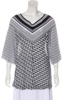Missoni Striped Chevron Sweater
