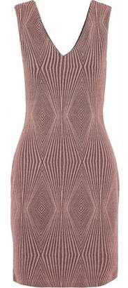 Tart Collections Metallic Jacquard-Knit Mini Dress