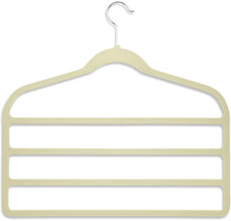 Honey-Can-Do Velvet Touch 4-Step White Pant Hangers