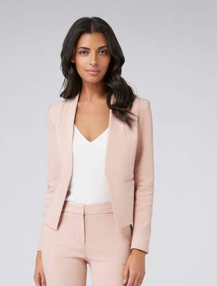 Forever New Ashley Petite L Blazer - Rose Smoke - 6