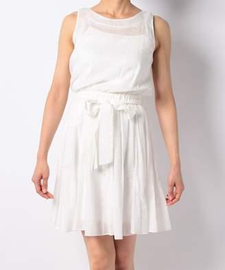 And Couture (アンド クチュール) - 【50%OFF】アンドクチュールC/ボイルドットシシュウOPショートレディースオフホワイトM【And Couture】【セール開催中】