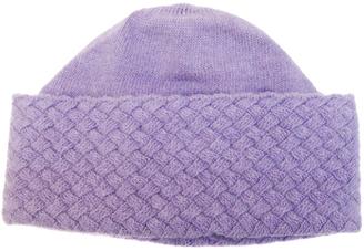 Basket Weave Cashmere Hat $110 thestylecure.com