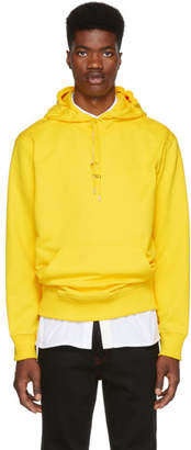 Helmut Lang Yellow New York Taxi Hoodie
