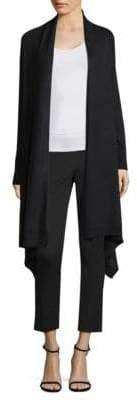 Donna Karan Cascade Front Open Cardigan